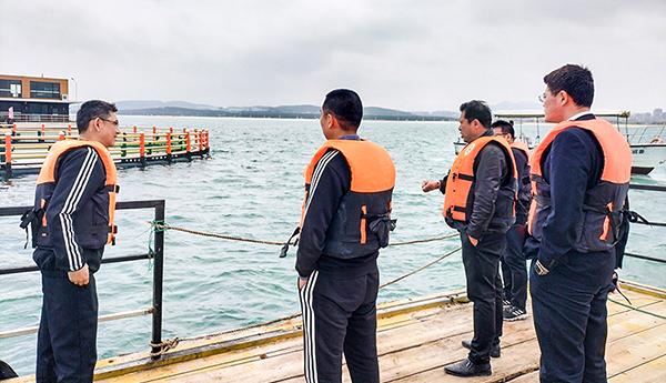 石岛理赔中心:为海洋牧场保驾护航