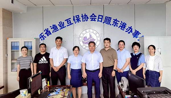 杜若谦理事长一行到岚山区、东港区club w88调研指导w88登录工作